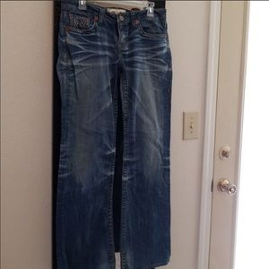 Big star jeans 16.5 inches across 31 inseam
